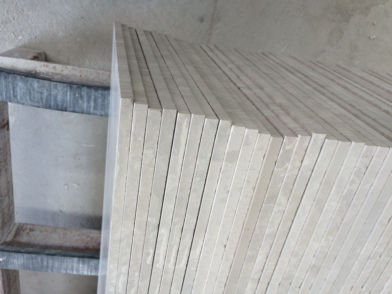Calibrated White Wood Tiles