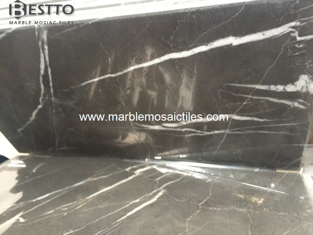 Pietra Grey Polished Tiles