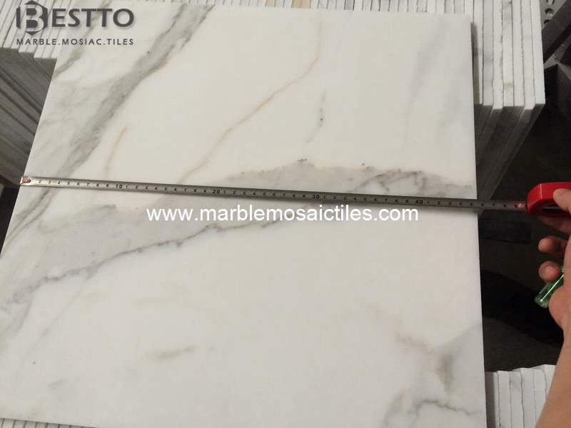Italy Calacatta Oro Honed Tiles