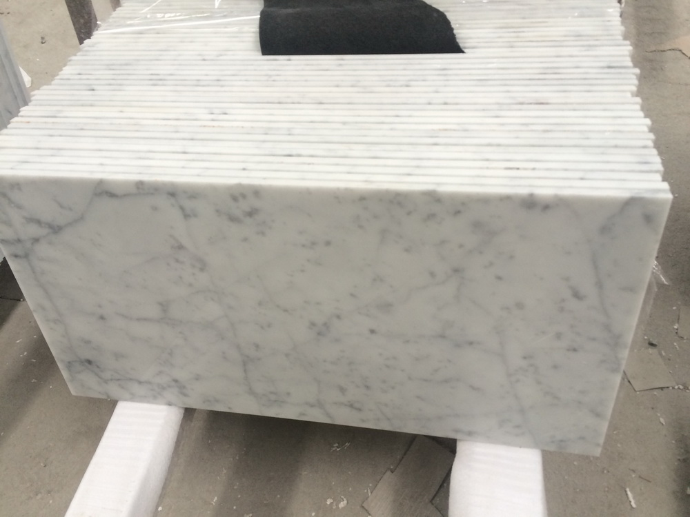 White Carrara Tiles 24''x24''