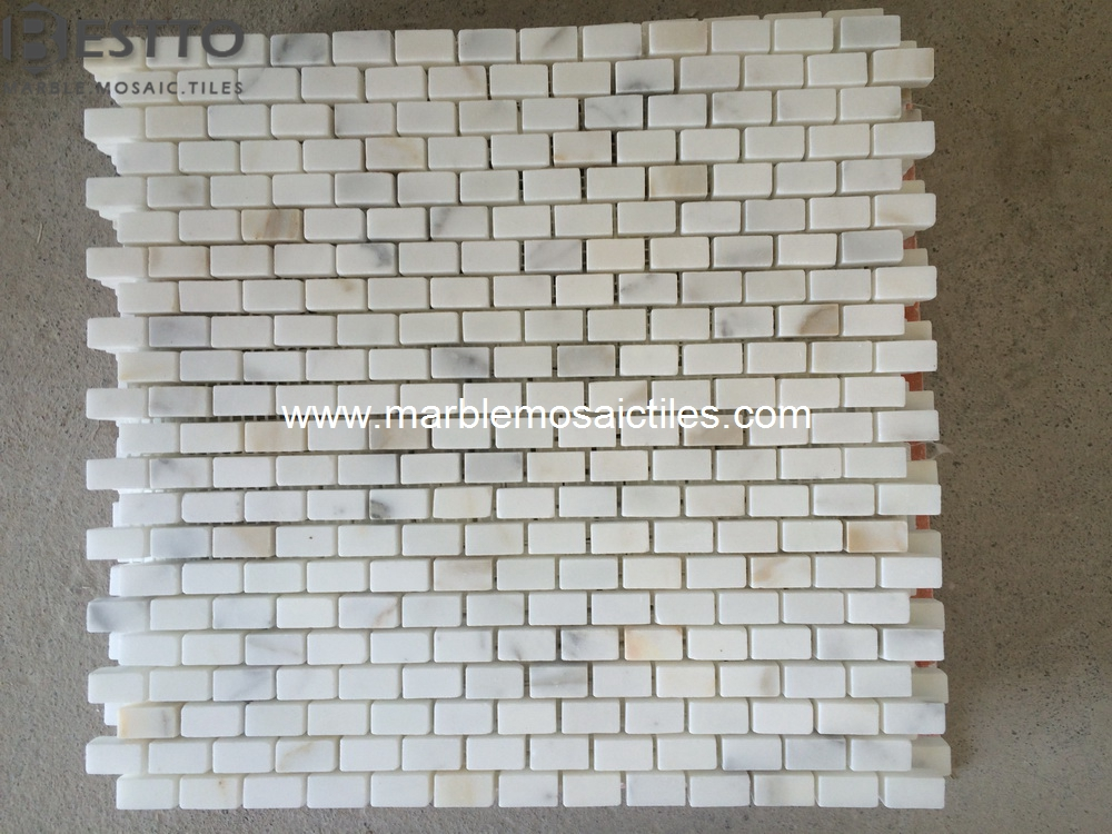 Calacatta Gold Bricks Mosaic tile