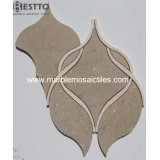 Hot Sale Brown Lantern waterjet mosaic