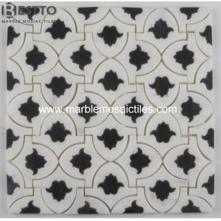 Tulip Marble waterjet mosaic Suppliers