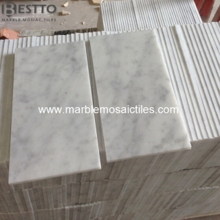 Top Quality Carrara White Tiles 6''x12''