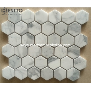 Statuary Hexagonal Mosaic