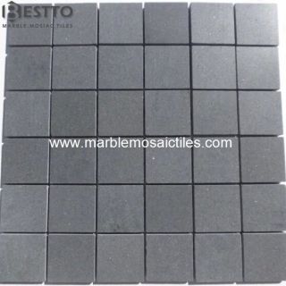 Honed Square Basalt Mosaic Suppliers