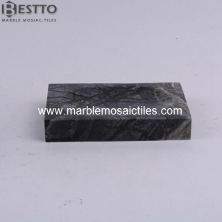 Tree Black marble soap dish Suppliers