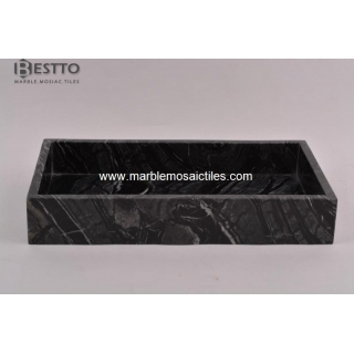 Tree Black marble Towel Box Suppliers