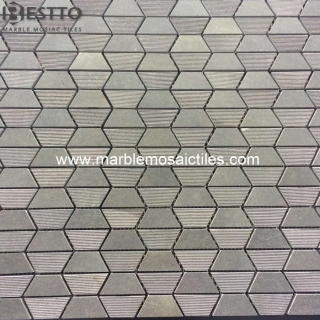 Grey Basalt  Hexagon Mosaic Online