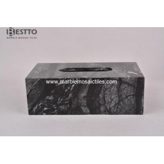 Tree Black Wood marble Tissue Box Suppliers