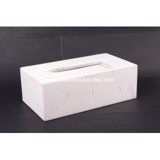 Volakas marble Tissue Box Suppliers