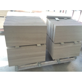 Top Quality White Wood Marble Tiles