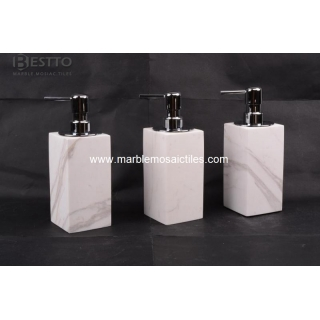 Volakas marble Soap Dispenser Suppliers