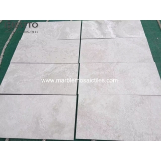 White Wood Cross Cut Tiles Suppliers