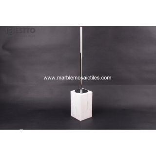 Volakas marble Toliet Brush Suppliers