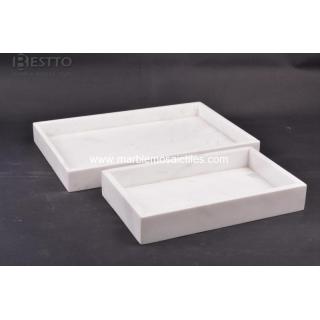 Top Quality Volakas marble Towel tray