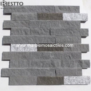 Natural Split Basalt and Granite Mosaic Suppliers