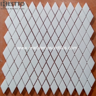 Thassos White Rhombus  Mosaic Suppliers