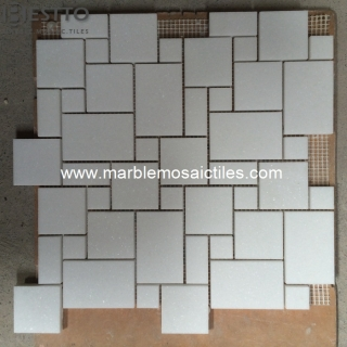 top Thassos White French Pattern  Mosaic online