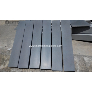 Top Quality Grey Basalt Honed Skirting