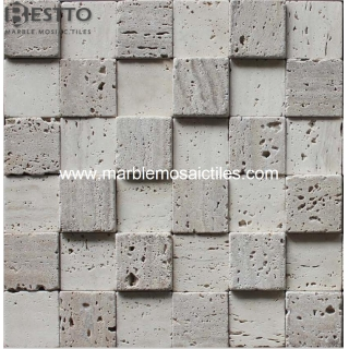 Travertine Square Mosaic Tile Online