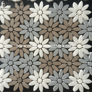 Athen wood Flower Mosaics Suppliers