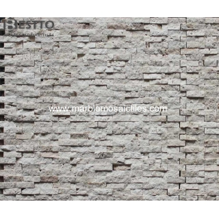 Natural split Travertine Mosaic Tile Online