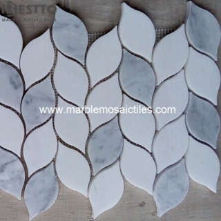Carrara and Thassos Mosaic Tiles Suppliers