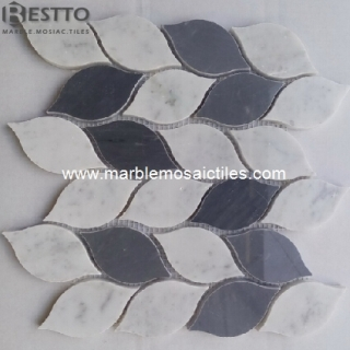 Carrara and Bardiglio Mosaic Tiles Suppliers