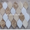 Light Emperador, Crema Marfil Mosaic Tiles