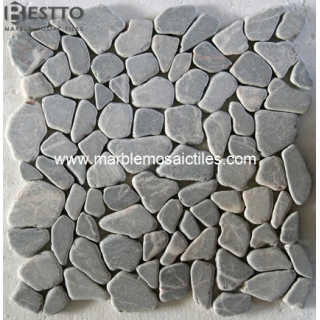 Grey Marble Crazy Mix Mosaic Tile Suppliers