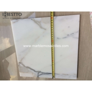 Italy Calacatta Honed Tiles