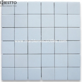 White Thassos Square  Mosaic Suppliers