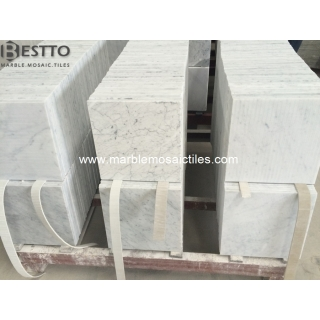 White Carrara Polished Tiles 12''x12'' Suppliers
