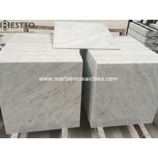 White Carrara Polished Tiles 24''x24'' Suppliers