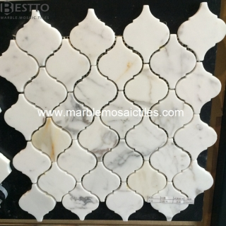 Calacatta Gold Arabesque Mosaic Suppliers