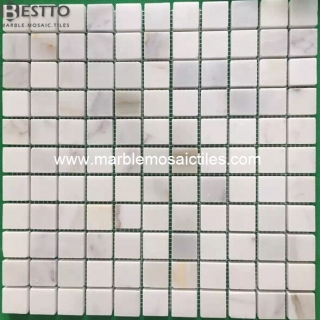 Calacatta Gold Square Mosaic tile Suppliers