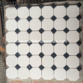 top Thassos White Octangle Mosaic online