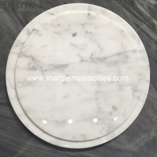 White Carrara Marble Tray Suppliers