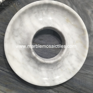 White Carrara Marble Dish Suppliers