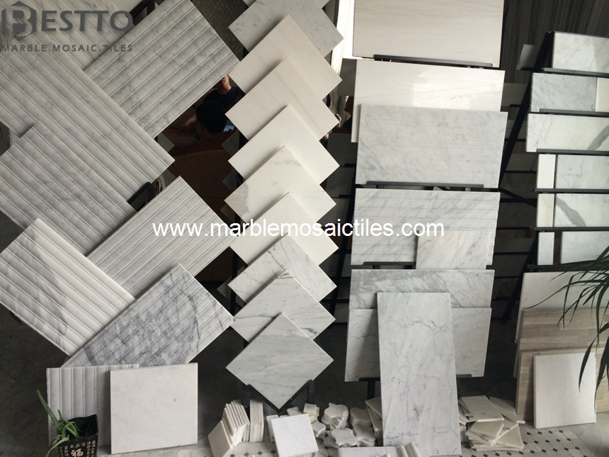 About Our Factory of White Carrara Tiles & Mosaics